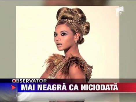 Beyonce nu vrea sa-si albeasca pielea, din contra