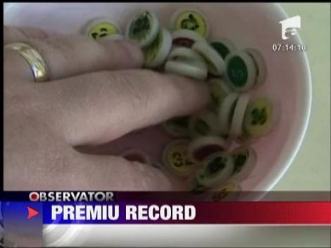 Premiu record! 6 milioane de euro la Loto