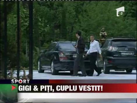 Gigi & Piti, cuplu vestit!