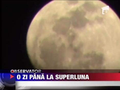 "Fenomenul ""Super Luna"""