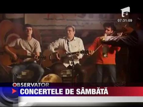 Concertele de sambata