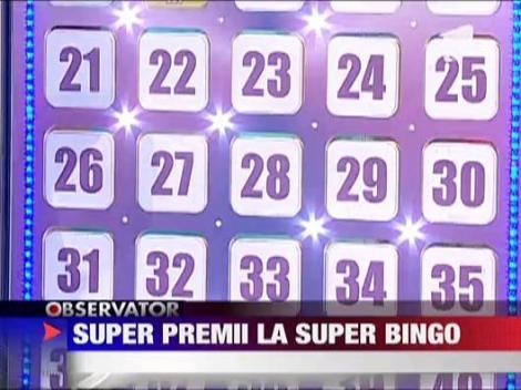 Super premii la Super Bingo Metropolis