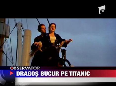 Dragos Bucur va juca in mini-seria Titanic