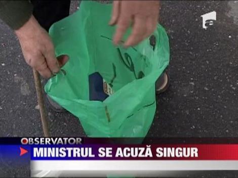 IMAGINI SOCANTE! Ministrul Cseke Attila se acuza singur