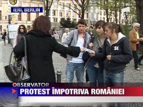 Protest impotriva Romaniei