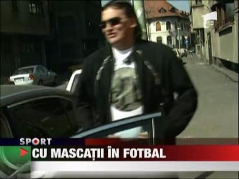 Cu mascatii in fotbal