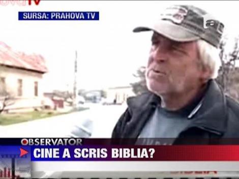 Cine a scris Biblia?