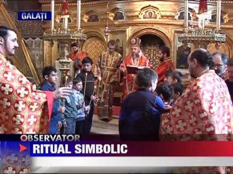 Ritual simbolic in Joia Mare