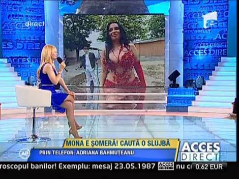 Adriana Bahmuteanu, despre concedierea Monei