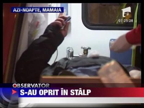 Accident spectaculos in Mamaia