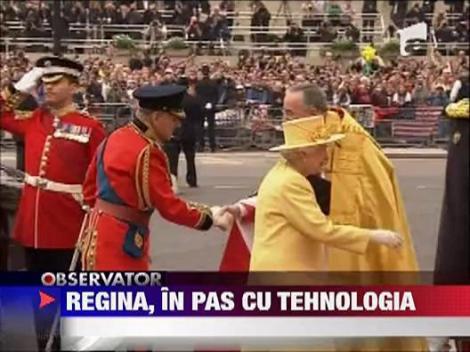 Regina Elisabeta, in pas cu tehnologia