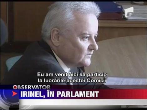 Irinel Columbeanu, scandal in Parlament