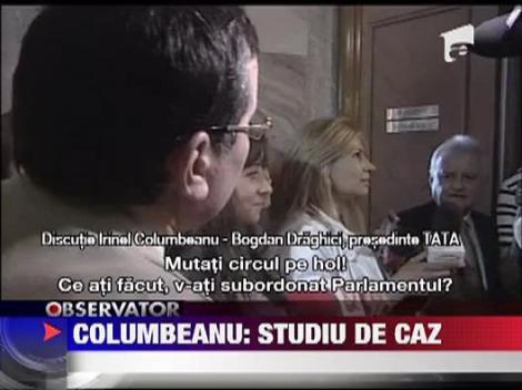 Divortul Columbeanu a provocat un scandal in Parlament