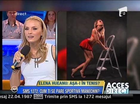 Elena Hueanu-sportiva manechin