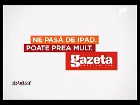 Miercuri 25 Mai va aparea editia de iPad a Gazetei Sporturilor