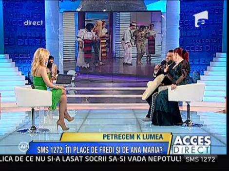 Fredi Camacho si Ana Maria Petre vor modera o emisiune la Antena 2!