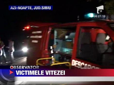 Accident grav in Sibiu