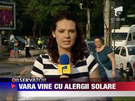 Sanatate: Alergia solara