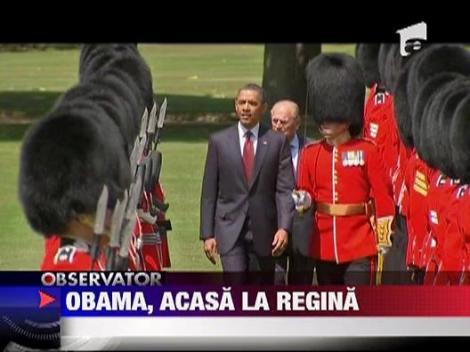 Michelle Obama, dezbracata de vant in Marea Britanie