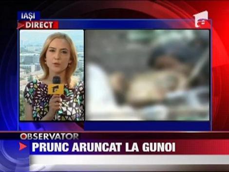 Vaslui: Un bebelus a fost gasit mort la groapa de gunoi