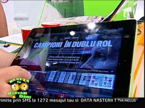 Primele imagini cu aplicatia de iPad a Gazetei Sporturilor!