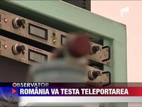 Teleportare in Romania