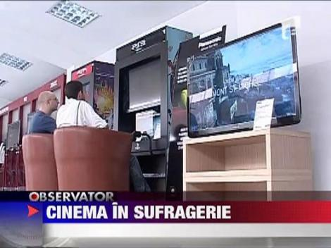 Mini-cinematograful din sufragerie