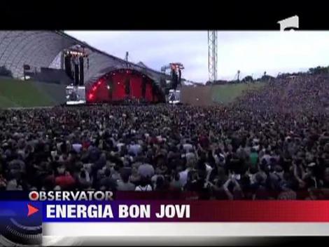 Bon Jovi i-a hipnotizat pe germani