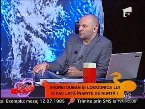 Andrei Duban si-a asortat costumul de nunta cu dintii