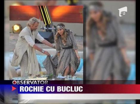 Rochie cu bucluc pentru J Lo