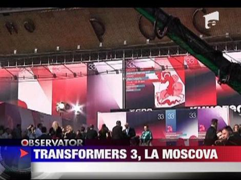 """Transformers 3"" a avut premiera mondiala la Moscova"