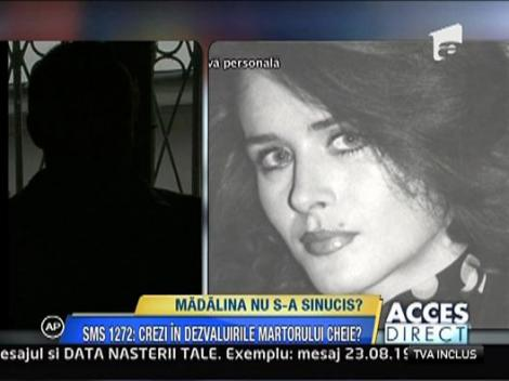 Vezi ce spune martorul cheie in redeschiderea dosarului Madalinei Manole
