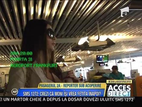 Reportaj sub acoperire Acces Direct: Vezi cum a calatorit Monica pe ruta Frankfurt-Bucuresti!