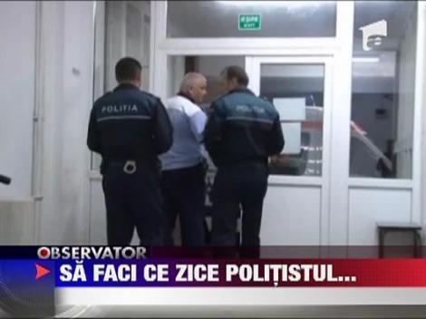 Seful Politiei din Dej, demis dupa ce a fost prins baut la volan