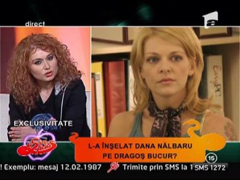 Veronica Cara nu e suparata pe Dragos Bucur