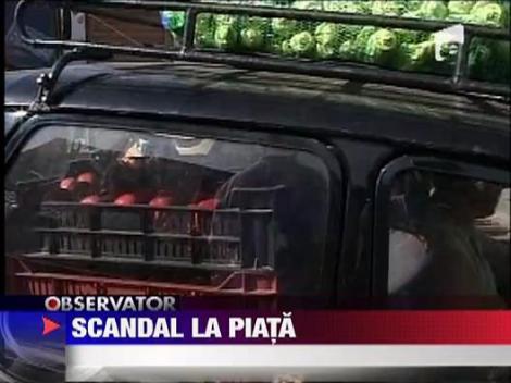 Brasov: Scandal monstru in Piata Stupini