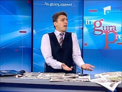 Mircea Badea despre incidentul auto in care a fost implicat iubitul Nataliei Mateut
