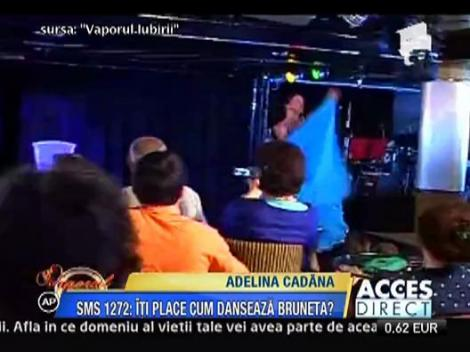 Adelina Pestritu danseaza lasciv in ritm de cadana