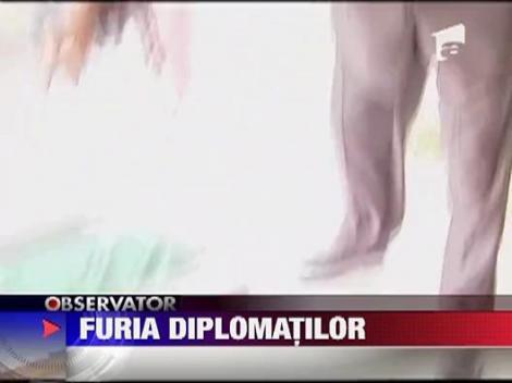 Revolta la ambasada Libiei din Sofia