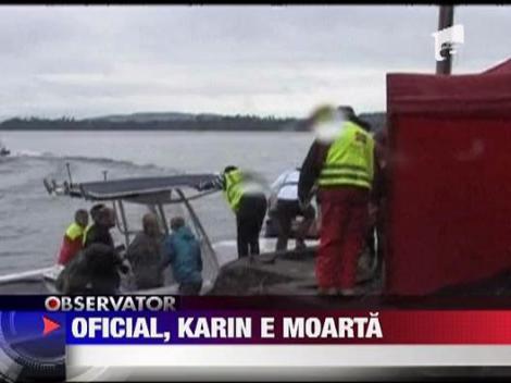 E oficial: Romanca Karina Elena a murit in macelul de pe insula Utoya