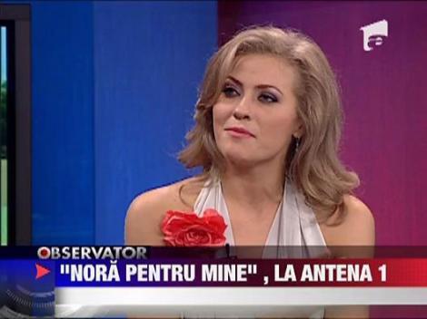 """""""Nora pentru mine"""", la Antena 1"""