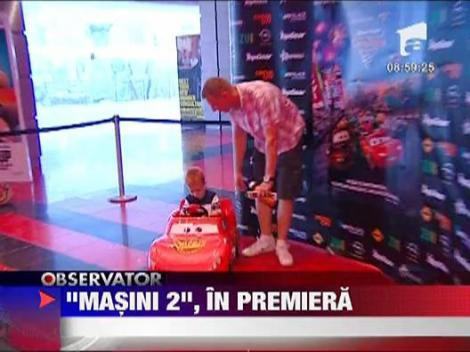 """Masini2"", in premiera la Bucuresti"