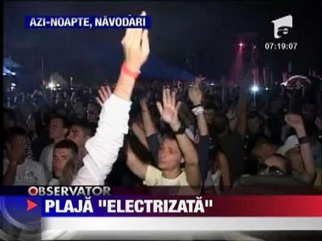 Show de muzica electonica la Navodari