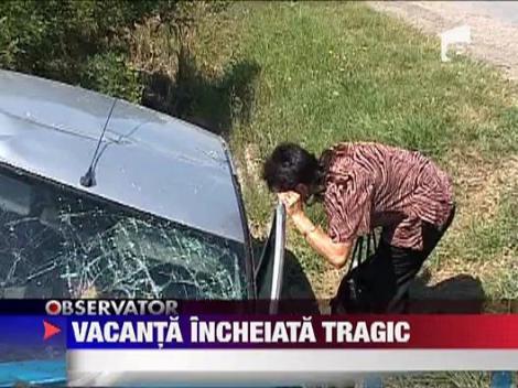 Accident tragic pe A1
