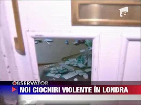 Conflictele continua in Londra