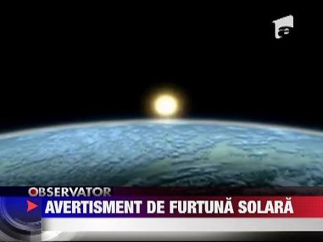 Alerta de furtuna solara