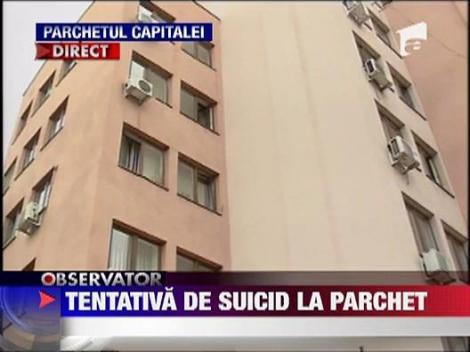 Tentativa de suicid la parchet