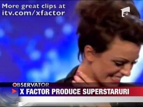 X Factor scoate vedete pe banda rulanta