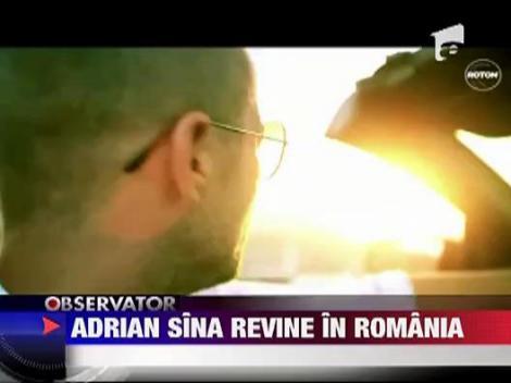 Adrian Sirna a revenit in Romania
