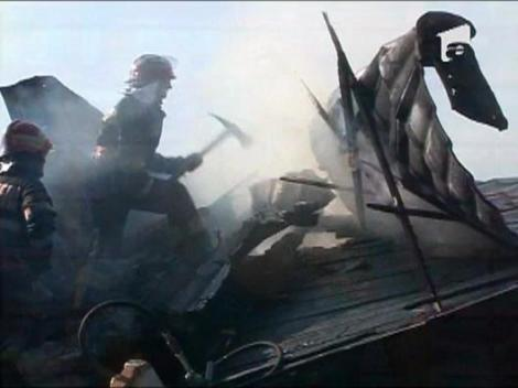 O puternica explozie a zguduit o strada din PLoiesti